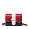 JUST STAR PU 2019 New Korea Style Shoulder Bag Red