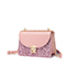 JUST STAR 2019 New Fashion Shining Shoulder Bag Pink