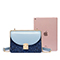 JUST STAR 2019 New Fashion Shining Shoulder Bag Blue