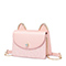 JUST STAR PU 2019 Lovely Cute Ear Shoulder Bag Pink