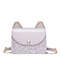JUST STAR PU 2019 Lovely Cute Ear Shoulder Bag Purple