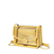 JUST STAR 2019 New Summer Jelly Shoulder Bag Yellow
