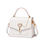 JUST STAR PU 2019 New Simple Style Handbag White