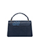 JUST STAR PU 2019 New Season Vintage Printing Shoulder Bag Blue