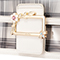JUST STAR PU 2019 New Popular Jelly Shoulder Bag White