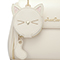 JUST STAR PU 2019 New Cute Cate Messenger Bag White