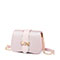 JUST STAR PU 2019 New Sweet Girl Saddle Bag Pink