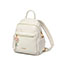 JUST STAR PU 2019 New Casual Backpack White