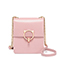 JUST STAR PU 2019 New Casual Phone Bag Pink