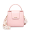 JUST STAR PU 2019 New Embroidery Handbag Pink