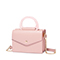 JUST STAR PU 2019 New Fashion Double-sided Envelope Bag Pink