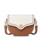 JUST STAR PU 2019 New Vintage Style Saddle Bag Brown