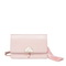 JUST STAR PU 2019 New Fashion Tassel Shoulder Bag Pink