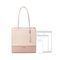 JUST STAR PU 2019 New Popular Tote Bag Apricot