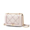 JUST STAR PU 2019 New Classic Shoulder Bag Apricot