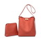 JUST STAR PU 2019 New Stylish Bucket Bag Red