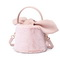 JUST STAR 2019 New Sweet Girl Soft Bucket Bag Pink