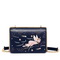 JUST STAR 2019 New Girl Paint Shoulder Bag Blue