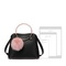 JUST STAR 2019 New Fashion Girl Handbag Black