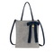 JUST STAR 2019 New Bowknot Diamond Tote Bag Blue