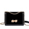 JUST STAR 2019 New Fashion Girl Shoulder Bag Black