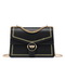JUST STAR 2019 New Year Hot Shoulder Bag Black