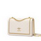JUST STAR 2020 New Fashion Simple Design HoneyBee Girls Shoulder Bag White