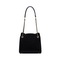 JUST STAR 2020 Casual Dairy Wear Contrast Color Women Tote Bag Black
