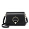 JUST STAR 2019 New Fashion Elegant Women Shoulder Bag Black