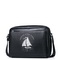 SAMMONS Top PU Leather New Navigation Series Messenger Bag Black